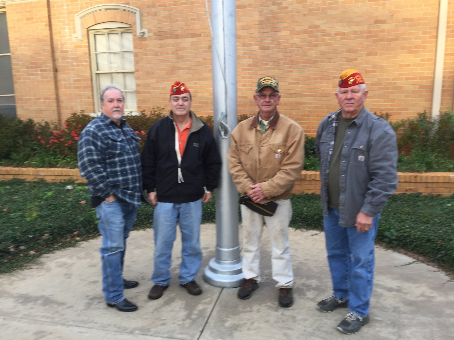 Veteran's Day Placing Flags 11 November 2017