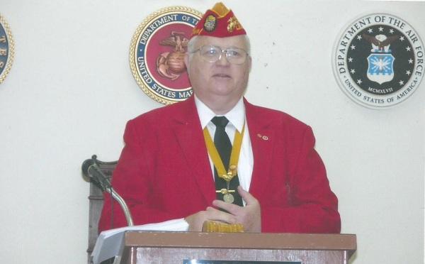 Bernie O'Dell State Commandant