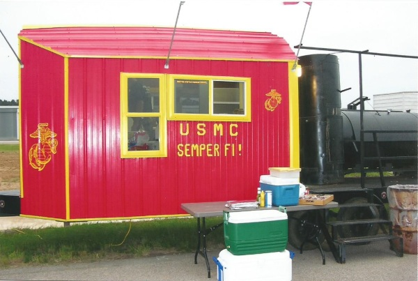The Smoker used at the 2005 Air Show
