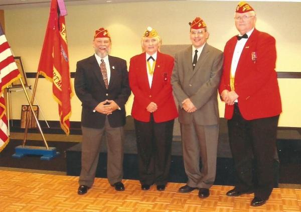 Lt-Rt; Dennis Bradford, Hellen Hicks, Roger Crone, Bernie O'Dell