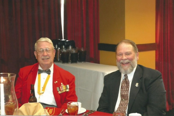 Lt-Rt; Bob Ogg, Dennis Bradford