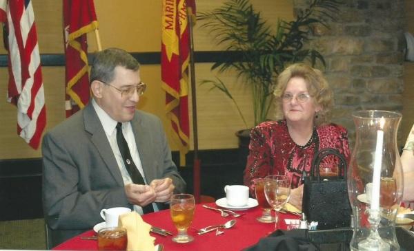 Lt-Rt; Roger Crone, Mrs. Ogg