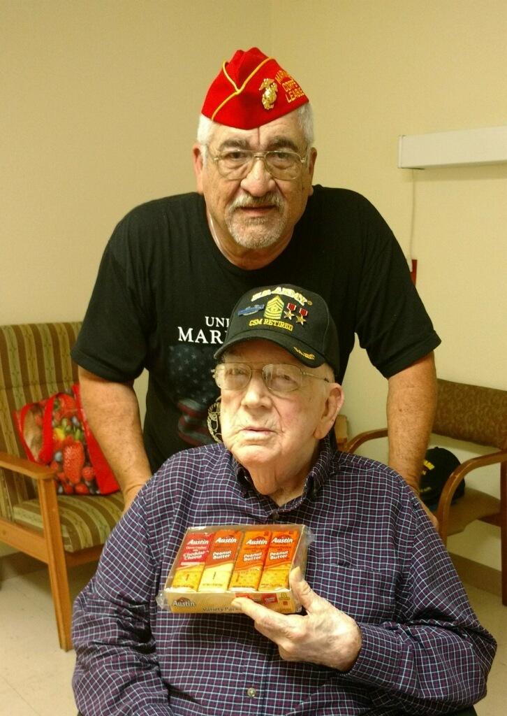 Bk-Fw; Jose Narvaez, US Army (CMD SGTMAJ) WWII Veteran