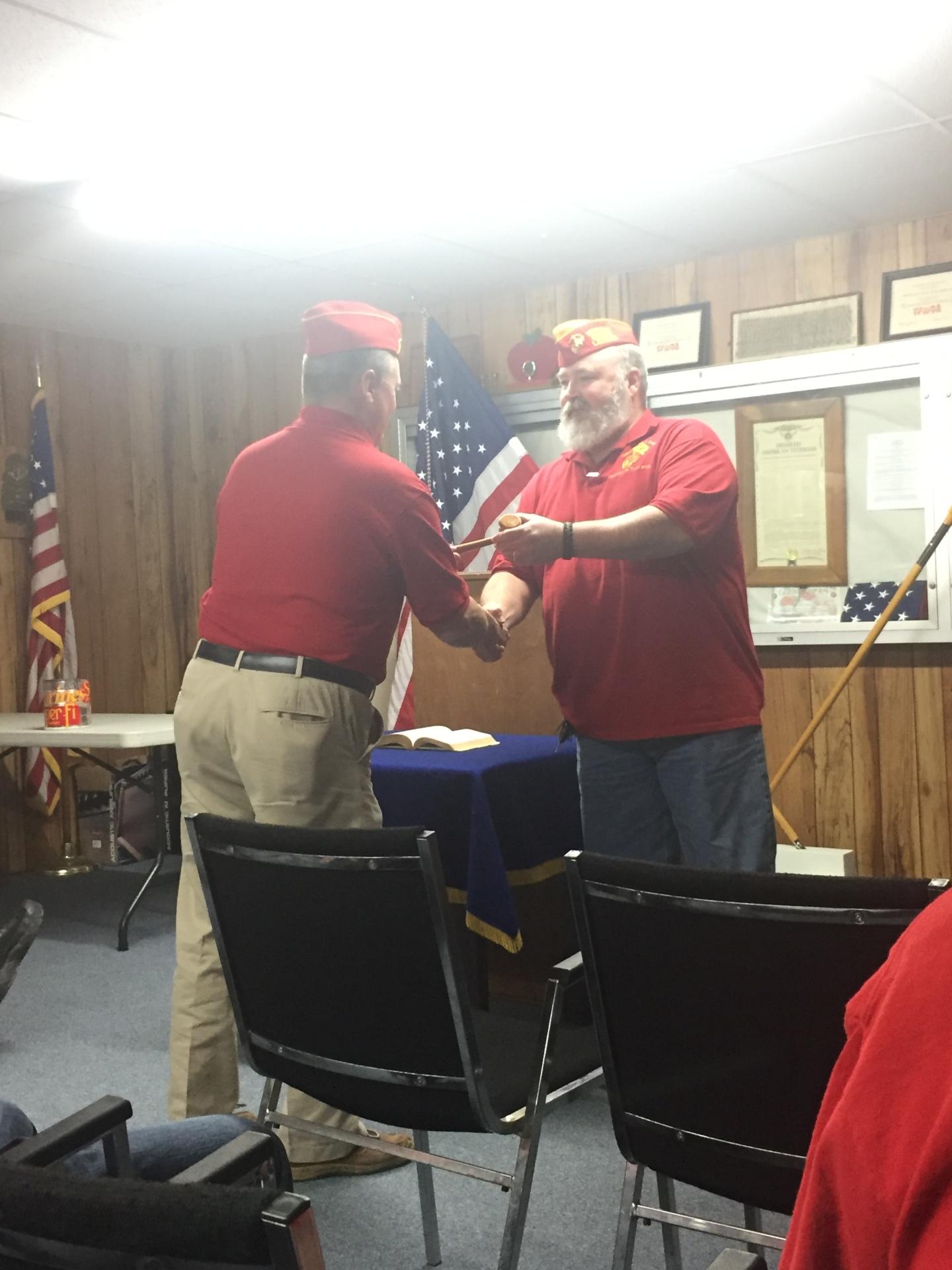 Lt-Rt; Kevin Gratehouse, Chuck Bones