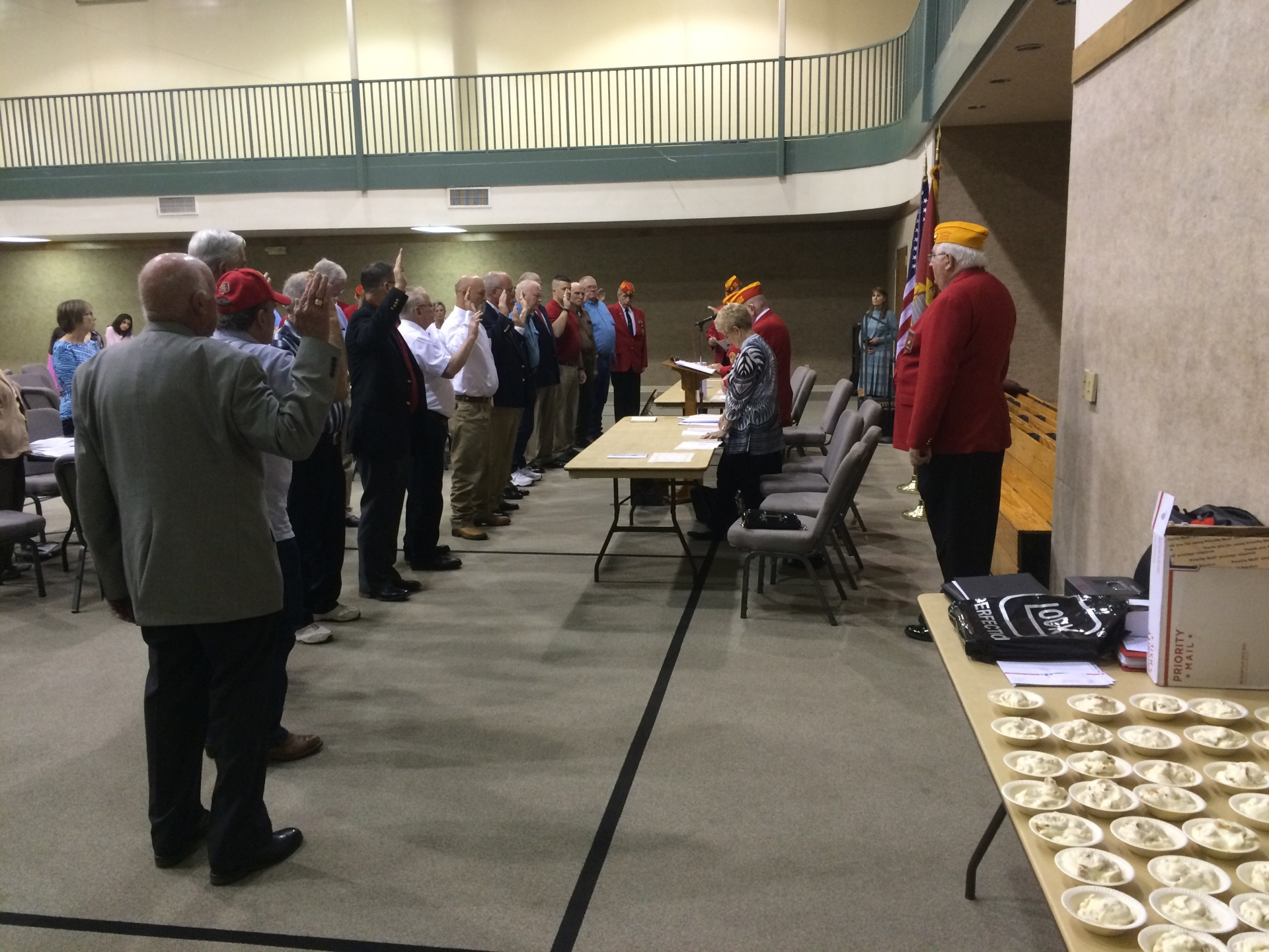 Opening Ceremonies of the Houston County Detachment