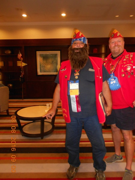 National Convention before Supreme Growl Devl Dog working for Yellow coller