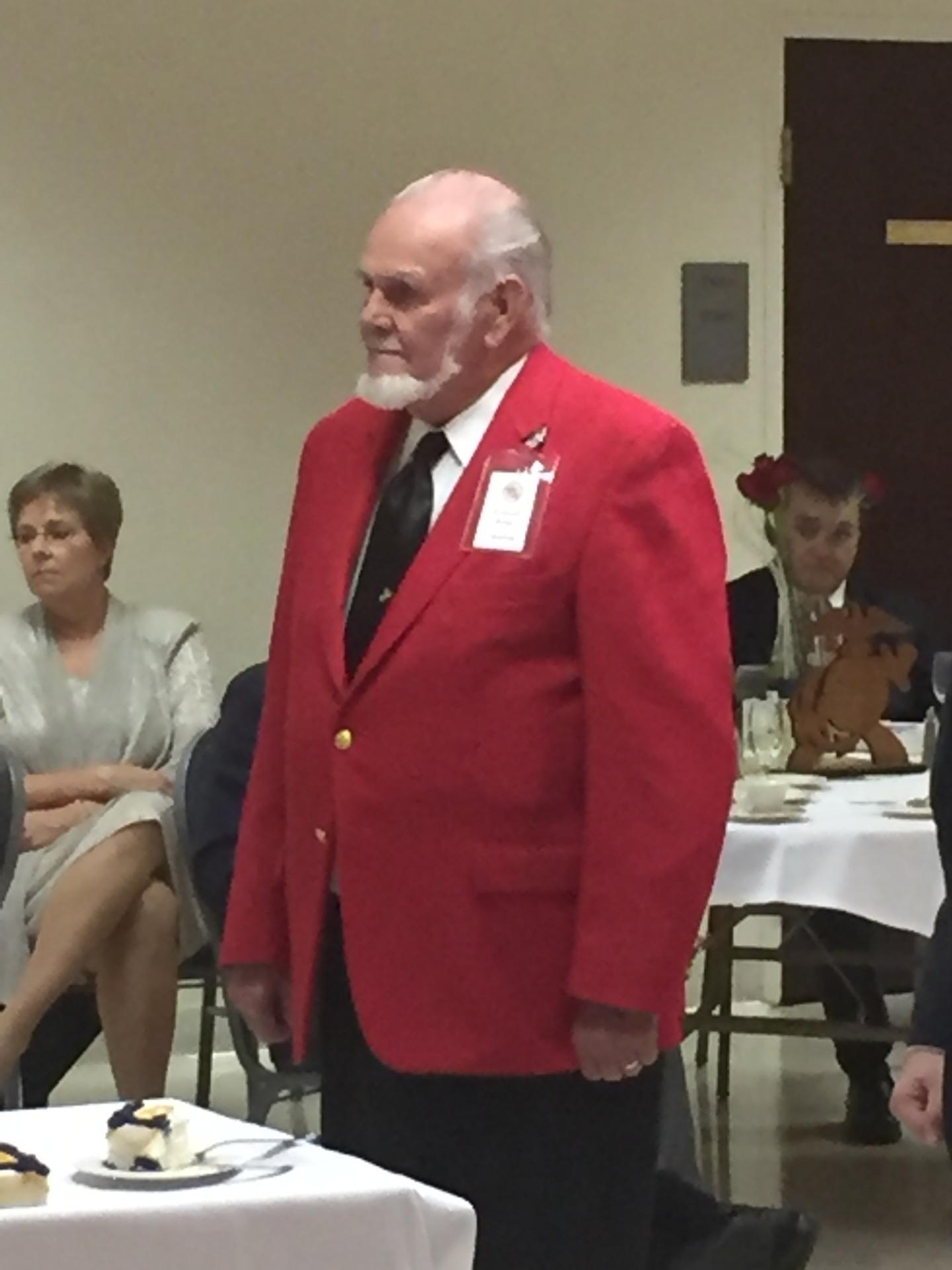 Kenneth Rains Old Marine Present
