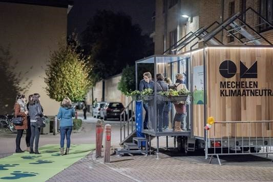 Mechelen opens renovation mobile