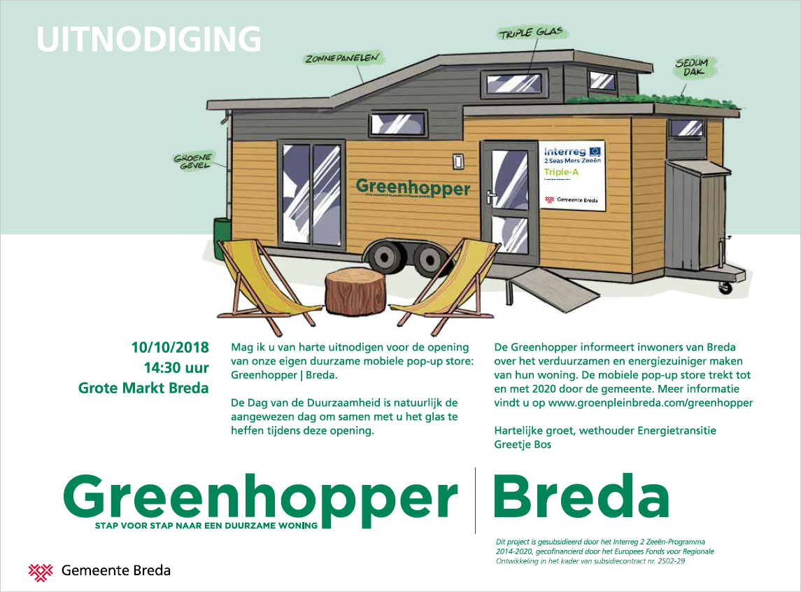 Official inauguration of Greenhopper | Breda (NL), 10 October 2018