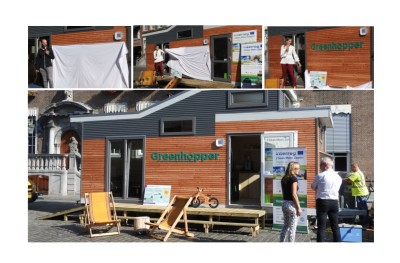 Breda's mobile pop-up centre is being received positively