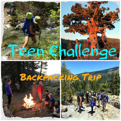 Wilderness Therapy Adventure:  Teen Challenge