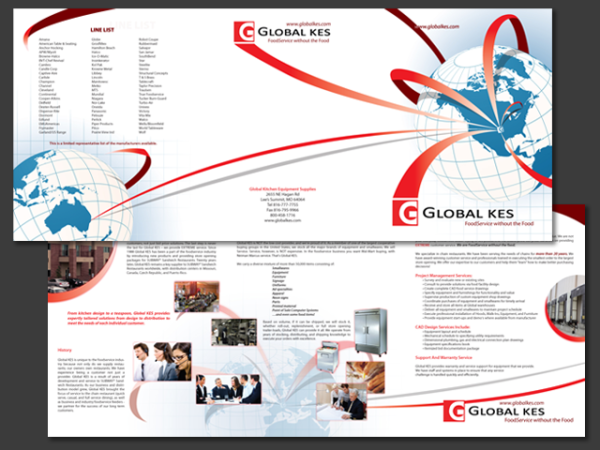 Global KES Tri-Fold Presentation Folder • Missouri, USA