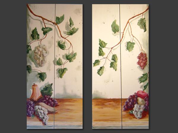 Tuscan TV Doors