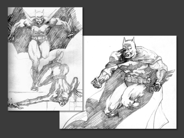 Various Comic Sketches