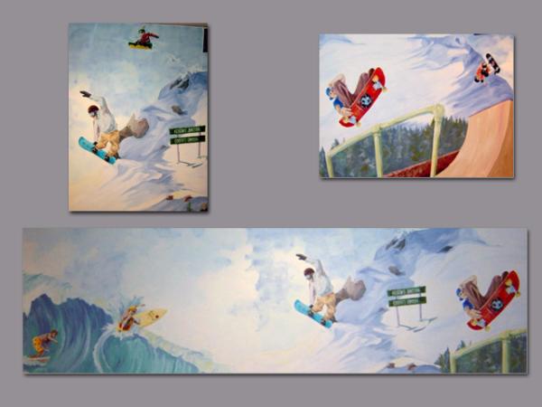 Surf, Skate and Ski