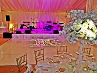 Wedding Reception Lighting, Audio, Video - Folsom California