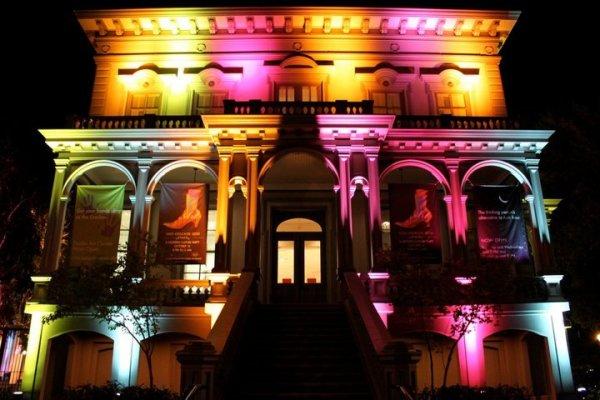 Architectural Lighting Design, Crocker Art Gallery Sacramento CA
