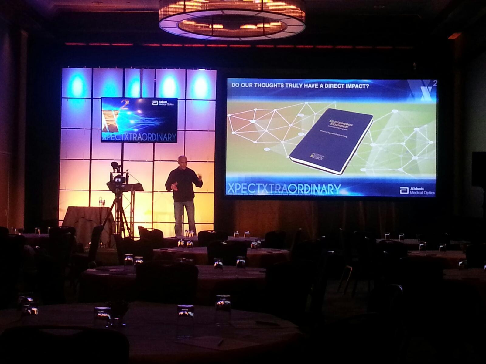 Plexiglass Decor, Projection Screen, Videopgraphy and Audio - Lake Tahoe California