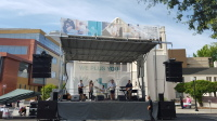 Stage and Truss Roof, Flown Audio, Decor - Sacramento California