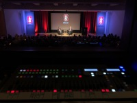 Lights, Audio, Video - Auditorium Panel Discussion - Crocker Art Gallery - Sacramento California