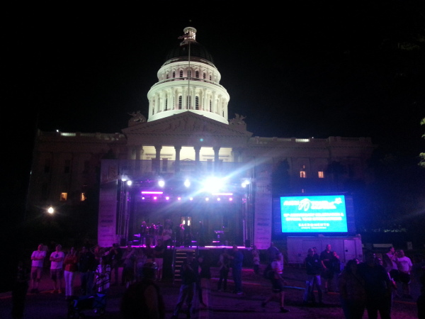 Truss Structure, LED Wall, Lighting and Audio - Sacramento Capitol