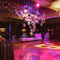 Atmospheric Uplighting and Decor