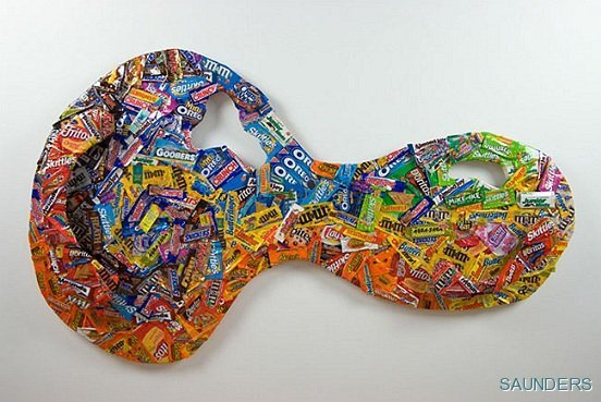 Every Single Piece of Candy I ate in College.