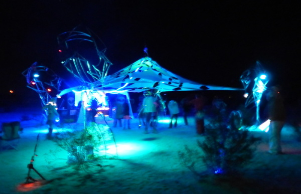 Dragons guarding the Pearl of Wisdon event tent.