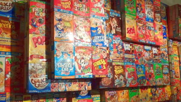 Detail of Cereal Box piece