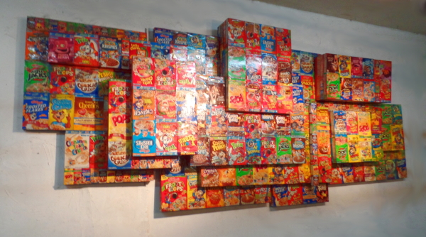 Children's Cereal Box Materializing