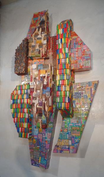 Sculptural wall piece 2015