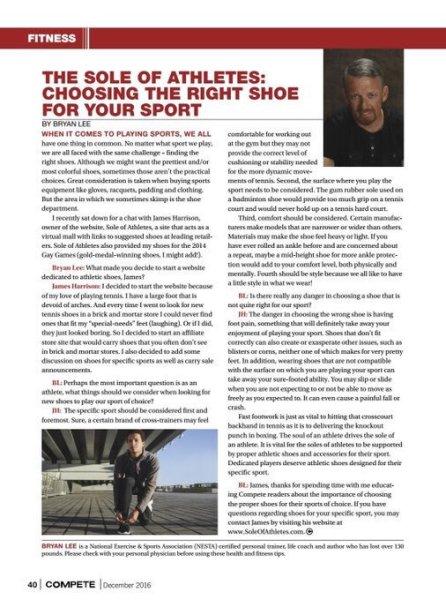 Compete Magazine December 2016