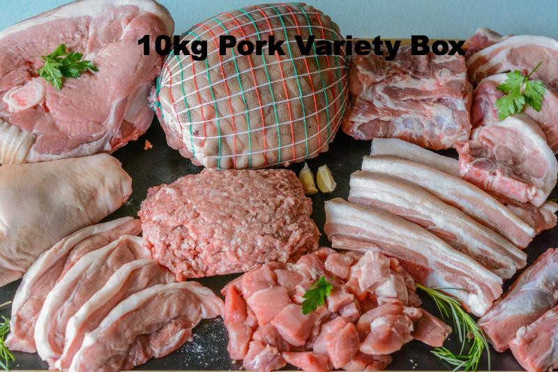 10kg Berkshire Pork Variety Box