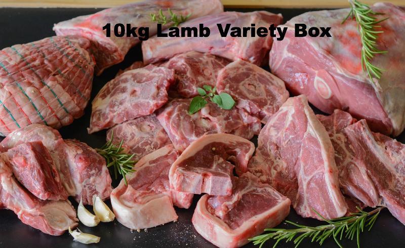 10kg Prime Lamb Variety Box