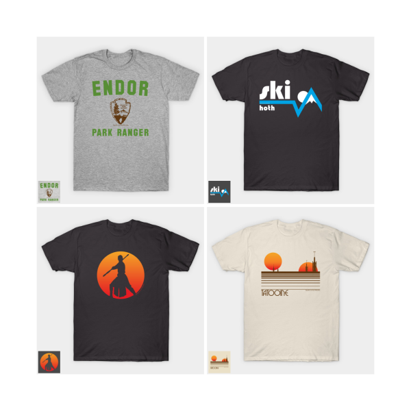 T-Shirt Designs - Self-published