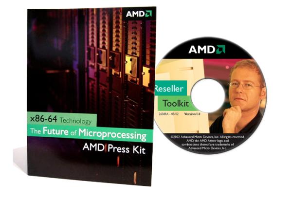 Branding - Press Kit, Promotional CD - Advanced Micro Devices