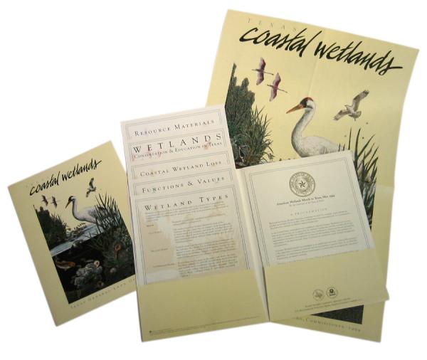 Publication Design - Press Kit - Texas General Land Office