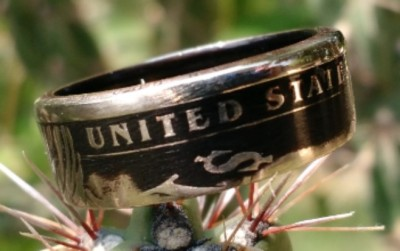 Clad Coin Ring