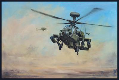 UK Boeing AH-64D Apache