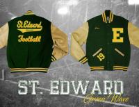 letter jacket for st edward high school