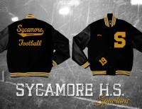 letter jacket for Sycamore High School