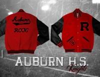 letter jacket for auburn high school