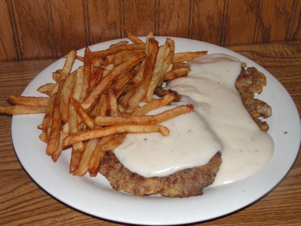 Chicken Fried Steak Plate