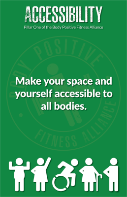 Accessibility is Pillar One of the BPFA