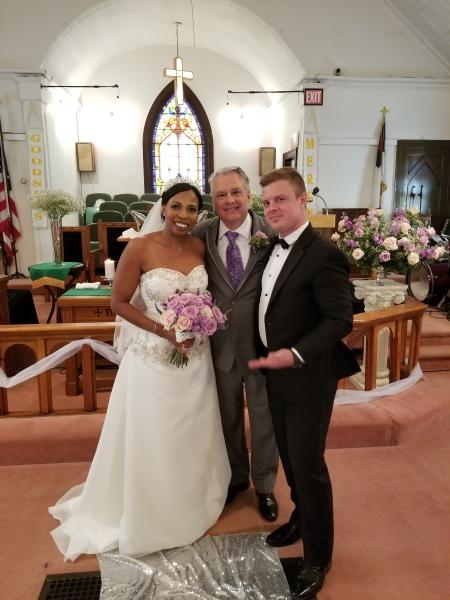 Charles' Wedding Ceremony