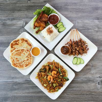 Variety of Borneo Inspired Dishes