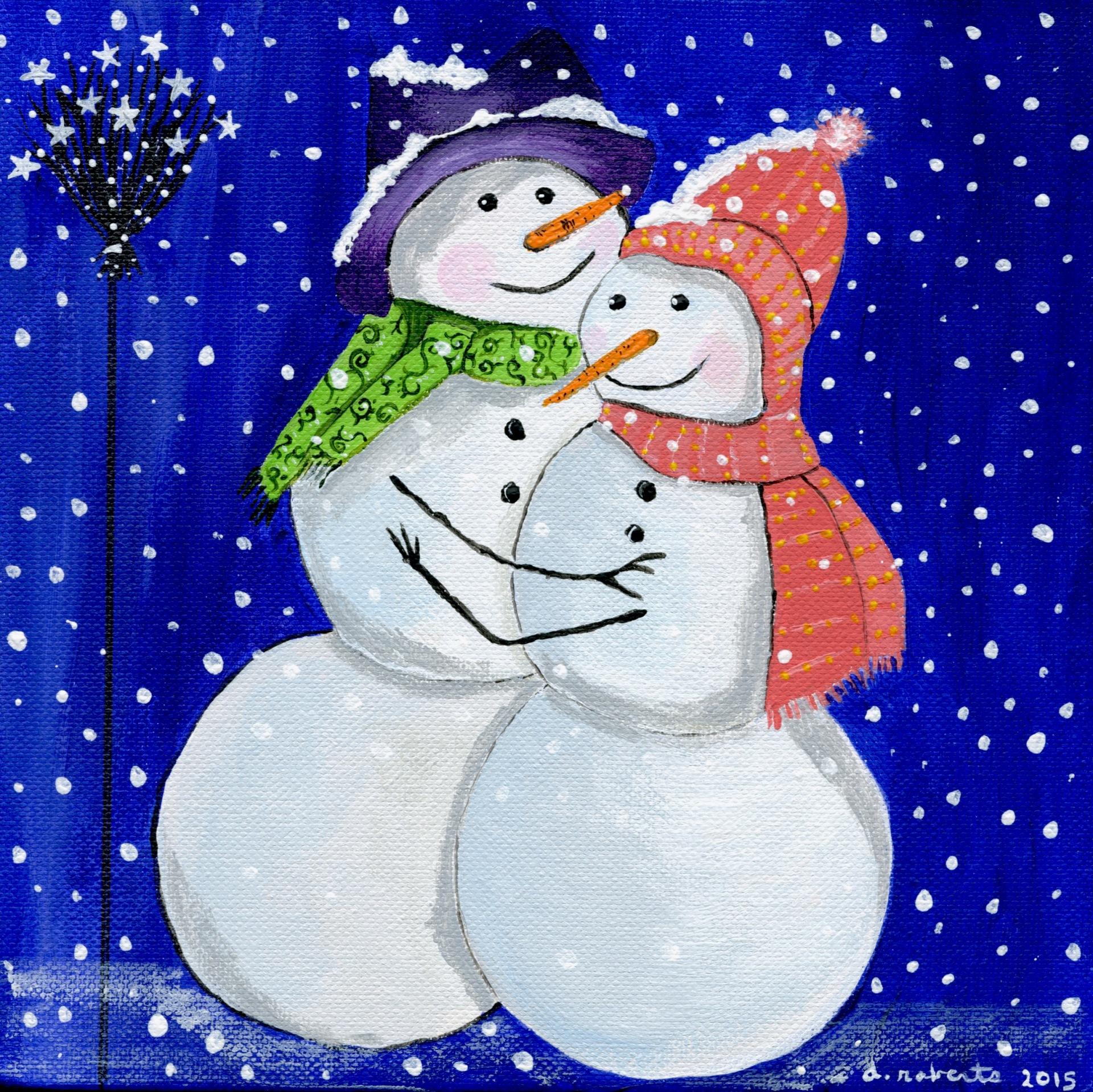 Mr. & Mrs. Snowmen