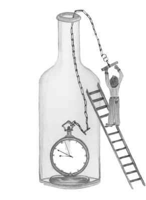 Time in a Bottle-Background is printed white