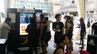 Fitgo Smoothie in Adidas event