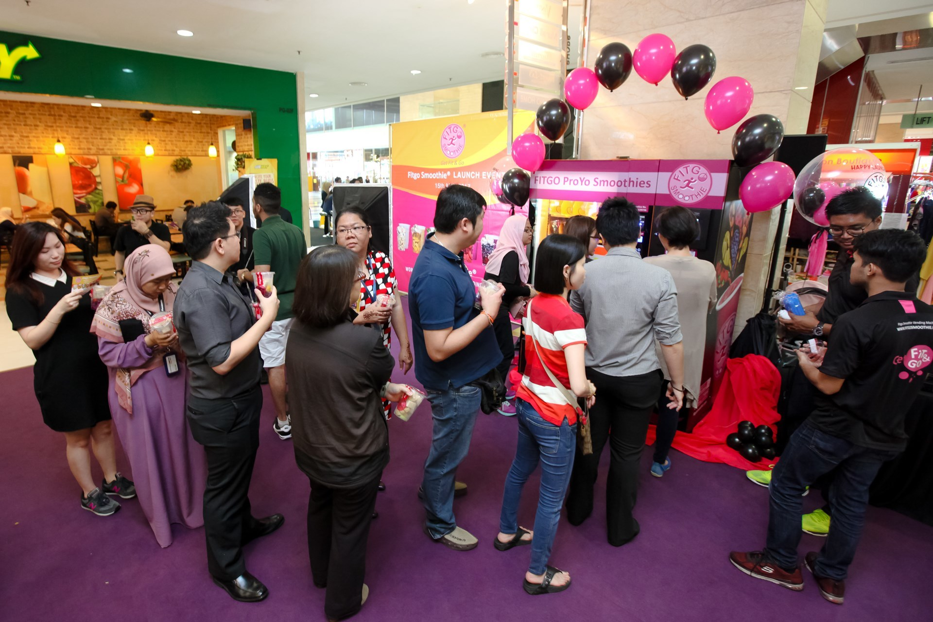 Fitgo Smoothie Launching Promo